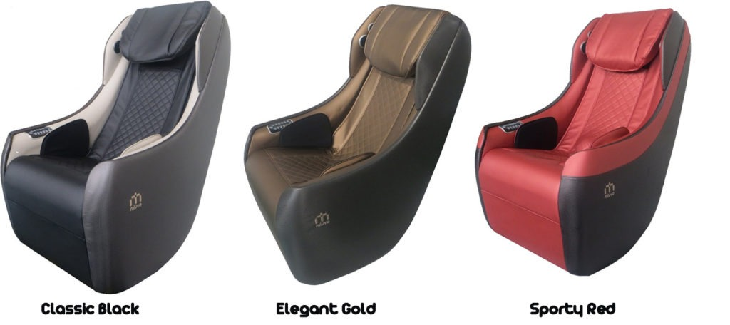 3 trendy colours of massage chair