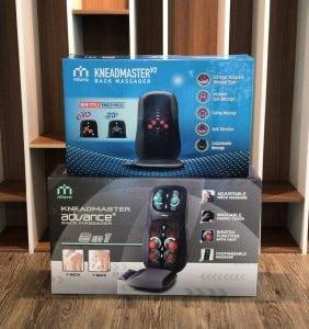 Comparison of KneadMaster back massager models