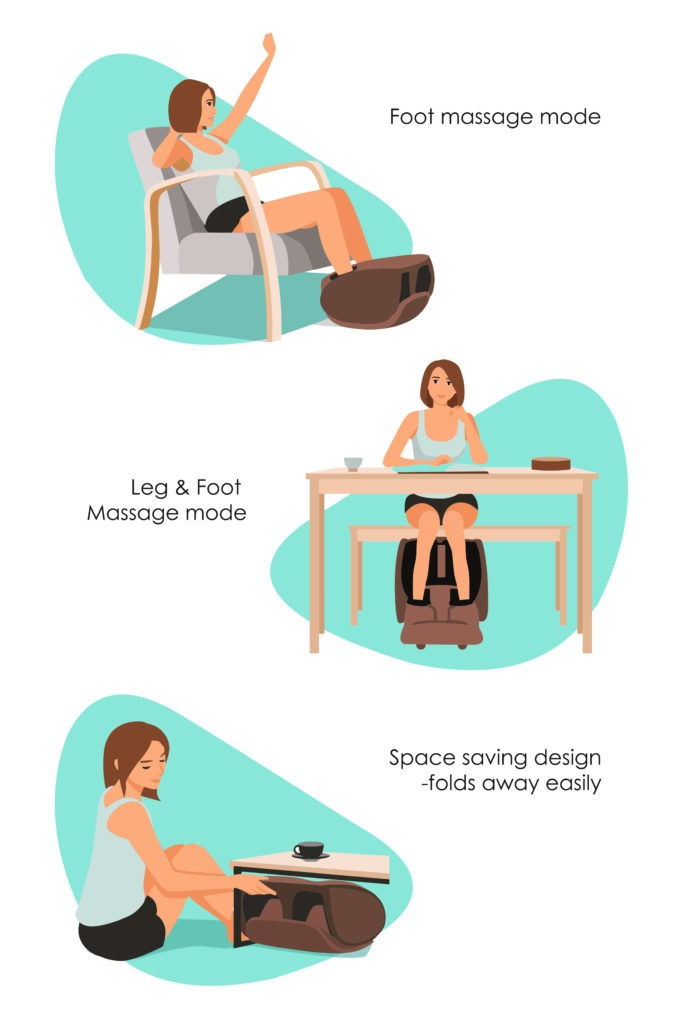 Wonderlegs Leg and Foot Massager