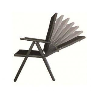 Aluminium Position Recliner (Black)