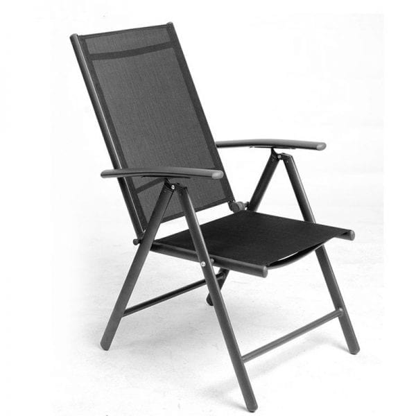Aluminium Position Recliner (Black)