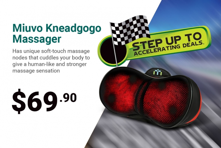 Miuvo Kneadgogo Massager SPC Promotion
