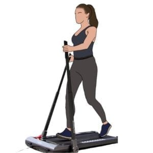 Power Walk Treadmill - Ultra Slim and Foldable
