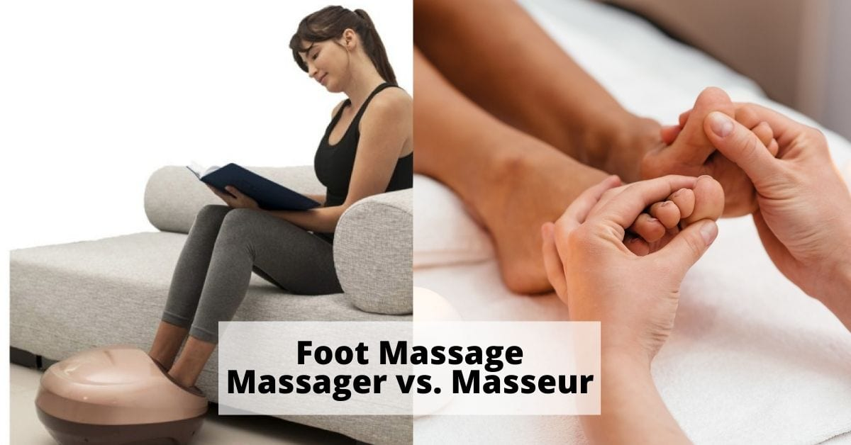 Foot massage massager vs massage spa
