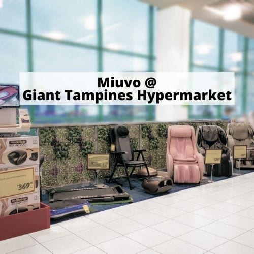 Miuvo at Giant Tampines Hypermarket
