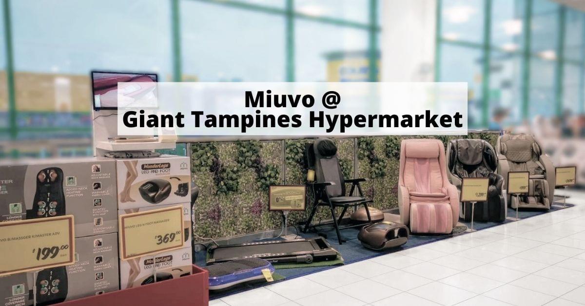Miuvo at Giant Tampines Hypermarket Hero