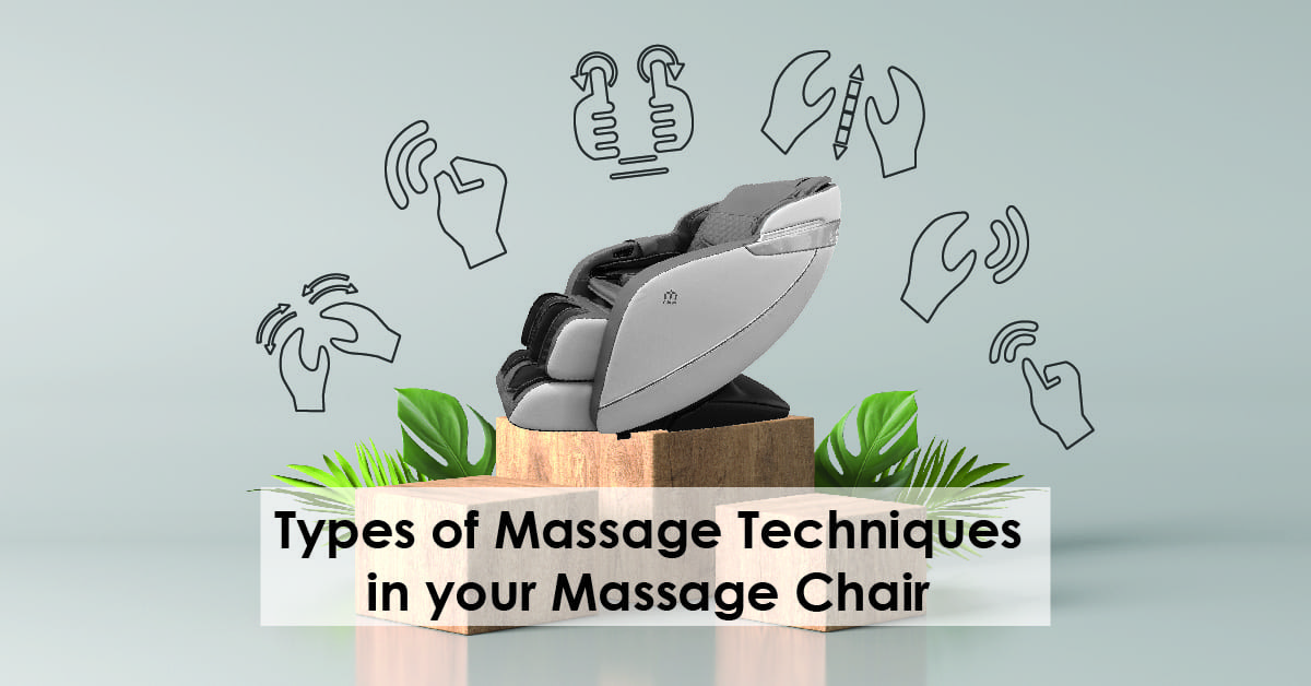 Types of massage techniques in massage chair